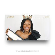 Miss Legacy International Squarespace Landing Page Reign, Brand Identity, Landing