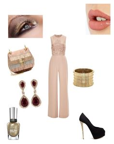 """""""No name yet"""" by imaginestronger ❤ liked on Polyvore featuring Elie Saab, Chloé, Effy Jewelry, Giuseppe Zanotti, Sole Society, Charlotte Tilbury and Sally Hansen"""
