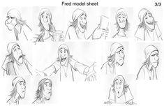 character model sheet big hero - Google Search