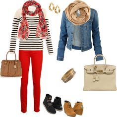 """""""Fall Style"""" by reinalatina on Polyvore"""