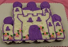 Castle Cupcake Cake (picture only)