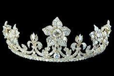 Diamond tiara from the Maclesfield Diamonds Jewels, circa 1850