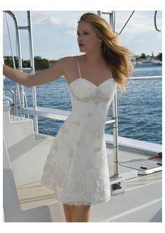 Google Image Result for http://www.elegantweddingdressesblog.com/wp-content/uploads/2010/07/organza-spaghetti-straps-with-empire-a-line-mini-skirt-beach-wedding-gown-wh-0046.jpg