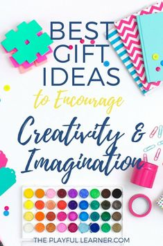 Creativity and imagination are great skills to foster in our young children. Here are some gift ideas for toddlers and preschoolers that encourages their creative imaginings! Some basic, some creative Children And Family, Young Children, Diy Gifts, Best Gifts, Fun Crafts, Amazing Crafts, Craft Activities For Kids, Toddler Preschool, Thank You Gifts