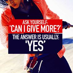 in-pursuit-of-fitness:Give Your Most!