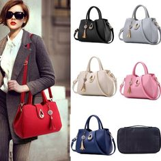 New Women Handbag Shoulder Bags Tote Purse PU Leather Messenger Hobo Bag Satchel. Women Clothes,Shoes&Accessory. Type : Tote Bag. ◈ Women's Clothes. ◈ Women's Accessories. Material : PU. With a handbag design, it is convenient for you to collect your makeup goods while traveling. | eBay!