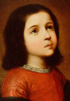 Francisco de Zurbarán. Detail from Childhood of the Virgin, 1660.