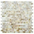 Splashback Tile Baroque Pearls 6 in. x 6 in. x 8 mm Mini Brick Pattern Floor and Wall Tile Sample (1 sq. ft.)-R3D3 at The Home Depot