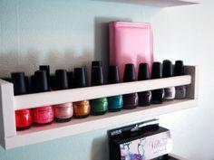 Nail Polish Storage: Loading Your Nail Polish
