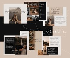 Wedding Photography Investment Guide // Pricing Template for professional photographers and wedding vendors // Corrie Mahr Photography