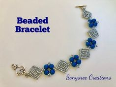 Diamonds ♦️ Bracelet. DIY beaded Bracelet. How to make beaded Bracelet - YouTube