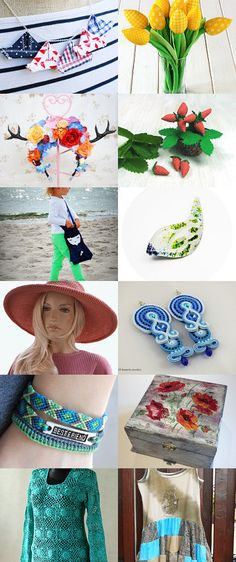 POLetsy in Summer!  by Kornelia on Etsy--Pinned with TreasuryPin.com