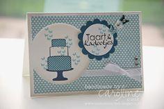 Stampin' Up! Birthday  by Caroline van der Straaten at Caro's kaartjes: Taartjes en Kadootjes