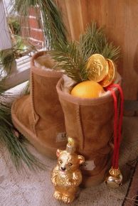 """Saint Nicholas Day - Dec. 6th - That's when """"Santa"""" came to us bringing sweets, nuts, and fruits to good little boys and girls."""
