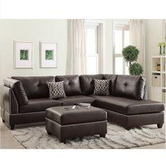 Stupendous 895 Best Leather Sectional Sofas Images Leather Sectional Inzonedesignstudio Interior Chair Design Inzonedesignstudiocom