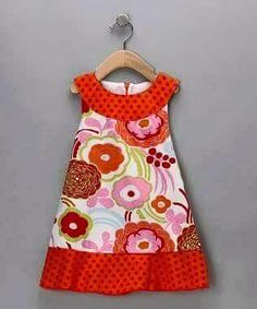 Another easy pattern for dress making in any fabric Check out the website to see Little Girl Dress Patterns, Little Girl Dresses, Girls Dresses, Toddler Dress, Toddler Outfits, Girl Outfits, Sewing For Kids, Baby Sewing, Sewing Clothes