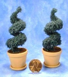 Miniature Tall Topiary Trees Project by Kathryn Depew