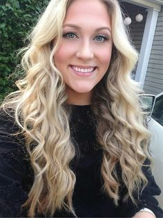 Bubble Curling Wand Waves