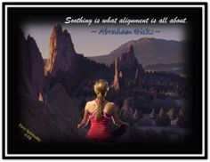 Soothing is what alignment is all about. *Abraham-Hicks Quotes (AHQ1965) #alignment