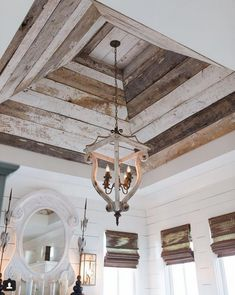 Home Remodeling Ceilings Sale Ultra Thin White Washed Barn Siding Loft Design, House Design, Quinta Interior, Deco Champetre, Barn Siding, Plafond Design, Wood Ceilings, Kitchen Ceilings, Coffered Ceilings