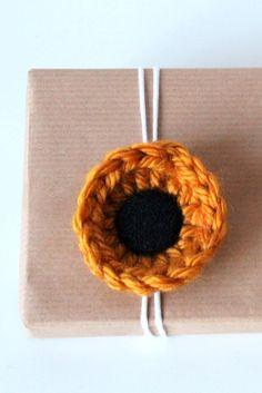 sunflower clips