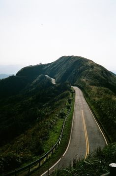 Highway, curves, road hillside, beauty, photo