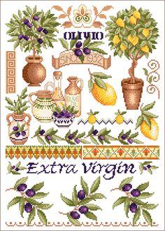 Toskana Oliven