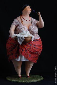 Collectible handmade dolls.
