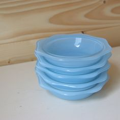 Baby Blue Pyrex