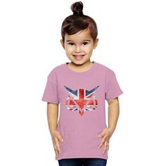 Vanoss Great Britain Flag Toddler T-shirt