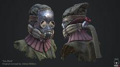 """ArtStation - """"Gas Mask"""" , Luis Salazar"""
