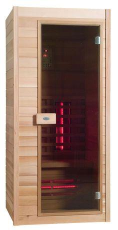 Infrarotkabine - Nobel Sauna 90 Hemlock - Klicken Sie auf das Bild um die Galerie zu öffnen