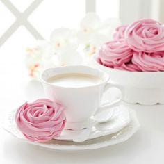 Rose meringue recipe