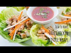 Thai Chicken Lettuce Wraps | Chicken Recipe | Just One Cookbook