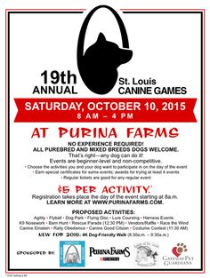 St. Louis Canine games