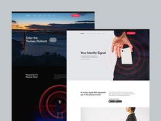 Proxy empowers people with a digital identity that transforms how they access and experience the world around them. Landing Page Inspiration, Design Inspiration, Web Design, Best Landing Pages, Branding, Video Background, Wordpress Theme Design, Landing Page Design, Create A Logo