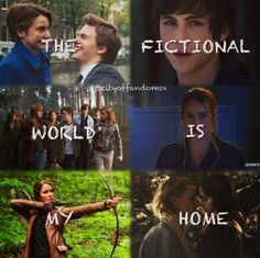The Fault In Our Stars - Percy Jackson - Harry Potter - Divergent - The Hunger Games - The Mortal Instruments Book Qoutes, Book Memes, Movie Quotes, Maze Runner, I Love Books, Good Books, Book Fandoms Unite, Book Nerd Problems, Fandom Quotes