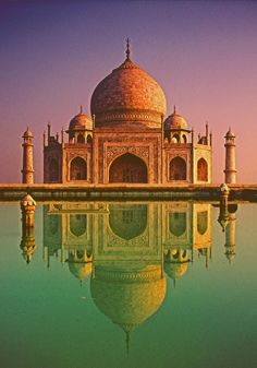Taj Mahal --the first building I ever fell in love with