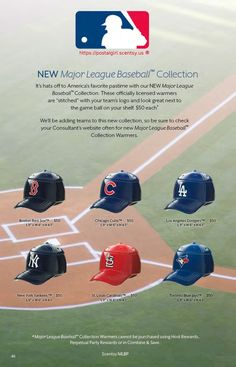 Choice of MLB Premium Warmer ~ ORDER ONLINE ~ SHIPS DIRECT https://spollreisz.scentsy.us