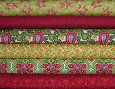 Anthology ll Fat Quarter Bundle of 6 by by SistersandQuilters, $16.50