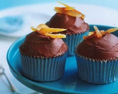 Orange chocolate cupcakes recipe