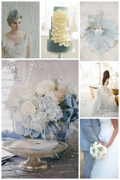 Inspiration: Dusty Blue | Weddings by Malissa | Barbados Weddings