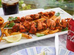 This Muslim Girl Bakes: Chicken Malai Tikka Skewers.