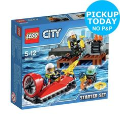 Lego fire starter set - #60106. from the #official #argos shop on ebay,  View more on the LINK: 	http://www.zeppy.io/product/gb/2/351787193407/