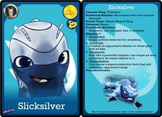 Trading Cards | Slugterra Printables, Activities and Coloring Pages | SKGaleana