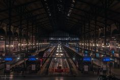 New photo on my blog, from my last trip in #Paris. The Eurostar and TGV terminus of #GareDuNord : http://lrdvision.blogspot.co.uk/2016/10/gare-du-nord-paris-france.html