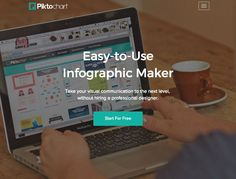 Piktochart is the easiest way to generate your own infographic graphics. Check out this renowned info graphic app's product features here.