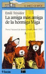 Este precioso libro, con su preciosa historia de aventuras, se encuentra disponible en la Biblioteca Escolar de nuestro cole para quien quiera disfrutarlo. Ganó el Premio Nacional de Literatura Infantil y Juvenil de 1997. Es todo un clásico.