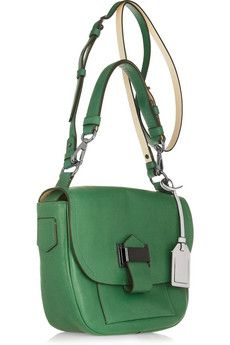 Reed Krakoffkit leather shoulder bag in pretty kelly green