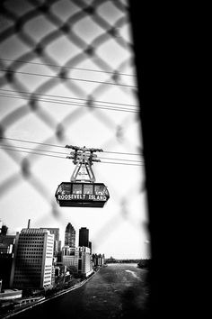 Roosevelt Island tram - New York via Chowen Photography